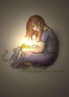 Lyra in the Dark by ~happineff on deviantART