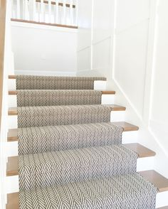 Ruthless Stair Runner Carpet Diy Stairways Strategies Exploited Coolest An Elega. Ruthless Stair Runner Carpet Diy Stairways Strategies Exploited Coolest An Elegant Stair Runner Fro Staircase Runner, Modern Staircase, Staircase Design, Stairs With Carpet Runner, Wood And Carpet Stairs, Stairway Carpet, Spiral Staircases, Staircase Ideas, Wood Stairs