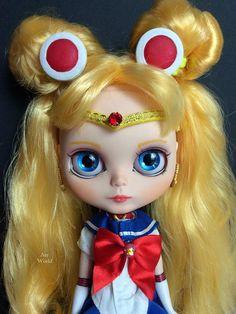 Custom Blythe Sailor Moon muñeca