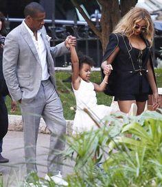 Beyoncé , Jay & Blue Ivy in Monaco 17.09.2015