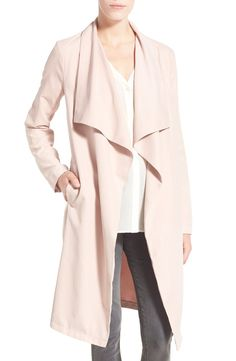 cupcakes and cashmere 'Laswell' Drape Coat