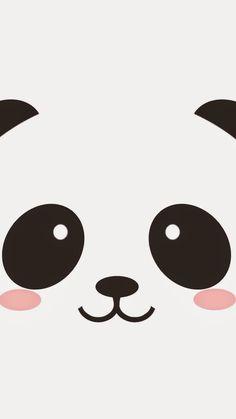 panda, cute, and wallpaper afbeelding