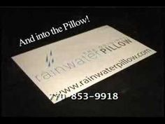 What is The Original Rainwater Pillow ??