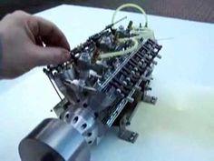 miniature engine running