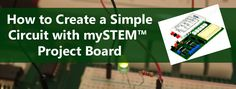 Use the mySTEM project board to plug into your NI myDAQ to create your own simple LED circuit. It's easy! This blog walks you through each step.