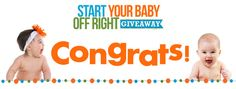 Start Your Baby Off Right Giveaway {Winners} - Right Start Blog