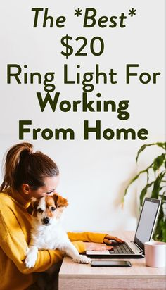 Get the best video call light for your computer on SheFinds.com. Makeup Guide, Beauty Makeup Tips, Beauty Advice, Beauty Magazine, Good And Cheap, Health And Fitness Tips, Drugstore Makeup, Work From Home Jobs, Cosmetology
