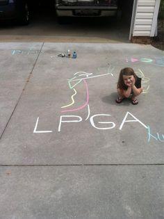 Golf Art, Just A Game, Golf Fashion, Lpga Tournament, Little Girls, Golf Style, Kids Rugs, Rocks, Camping