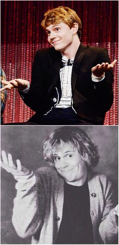 Do the Evan Shrug! When someone asks you why Evan is the greatest thing since sliced bread :-) Follow rickysturn/evan-peters