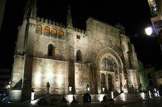 La iglesia de Santa María La Real es templo más importante de la ciudad, construido durante los siglos XV y XVI, mandada construir por los Reyes Católicos. Provincia de Burgos. #historia #turismo http://www.rutasconhistoria.es/loc/iglesia-santa-maria-la-real