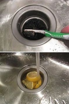 37 Deep Cleaning Tips Every Obsessive Clean Freak Should Know Clean your sink drain. Deep Cleaning Tips, House Cleaning Tips, Cleaning Solutions, Spring Cleaning, Cleaning Hacks, Daily Cleaning, Diy Hacks, Cleaning Lists, Cleaning Quotes