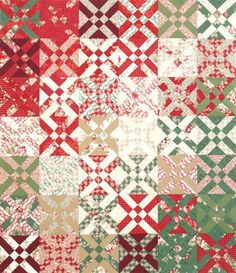 QM Staff Challenge made by June Dudley from Robyn Pandolph's Fancy Hill Farm for RJR Fabrics.