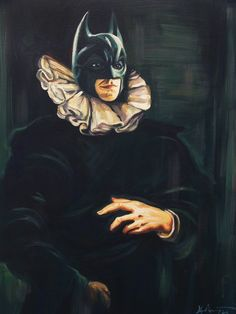 Bat Brueghel by Hilary White