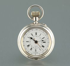 Extremely RARE Phonotelemeter Chronograph Sound Telemeter 1900 Pocket Watch | eBay