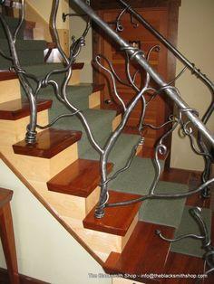Custom Made L. Vine Rail