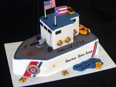 Coast Guards Cake by Cakes with L.O.V.E., via Flickr
