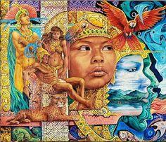 Pablo Moreno Live Latin_Funk by Dj Pablo Moreno music Colombian Culture, Colombian Art, Mesoamerican, Native American Artists, Chicano, Tribal Art, Fantasy Art, Drawings, Illustration