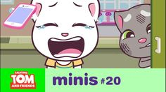 Talking Tom and Friends Minis - Angela's Lost Phone (Episode Finger Family Song, Family Songs, My Talking Tom, Minis, Tom S, He Is Able, Animation Series, Losing Her, Pretty Cool