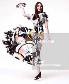 Stock Photo : Contour Style- Maxi Dress, Madame Figaro, December 21, 2012
