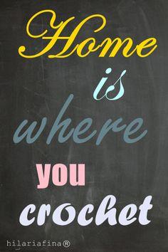 Home is where you Crochet ❥ 4U // hf