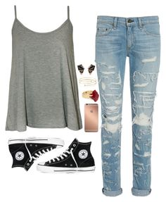 """""""I'm Done"""" by weirdestgirlever ❤ liked on Polyvore featuring WearAll, rag & bone, Converse, Mura, Lola Rose, Elsa Peretti and Nak Armstrong"""