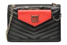 Je vends un petit Marc Jacobs démodé et j'aimerai prendre un sac à chaîne intemporel mais original. Je choisis lequel ? Sacs à main Quilted crossbody - Clutch BC Love Moschino vue 3/4