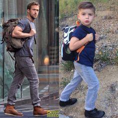 un petit garcon imite les top modeles 3 un petit garçon imite les top modèles top modèle Ryker Wixom photo parodie ministylehacker imita...
