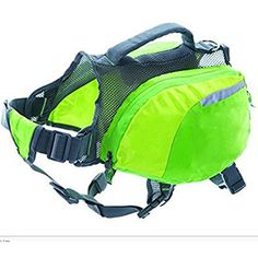 DUPET Soft Dog Backpack Hiking Oxford Cloth Saddlebag for Dogs £¨Green£ >>> You can find more details by visiting the image link. (This is an affiliate link) #Dogs