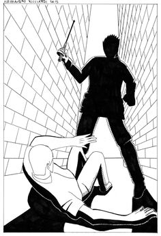 Aggressione. #Disegno #Draw #Drawing #Inchiostrazione #Ink #Inking #Illustrazione #Illustration #Tratteggio #Crosshatch