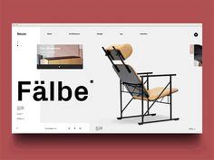 "via Muzli design inspiration. ""Dribbble Trend — Mondrianizm"" is published by Muzli in Muzli - Design Inspiration. Unique Furniture, Funky Furniture, Online Furniture, Furniture Design, Porch Furniture, French Furniture, Classic Furniture, Repurposed Furniture, Furniture Stores"