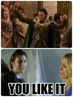 Yes I do...(I also like that someone combined Loki and Doctor Who! XD)