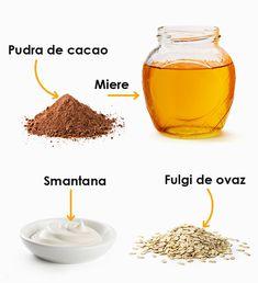 Oatmeal Mask, Apple Cider Vinegar For Skin, Beauty Advice, Beauty Hacks, Beauty Recipe, Nyx Cosmetics, Facial Masks, Sour Cream, Natural Skin Care