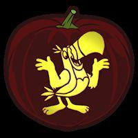 Toucan Sam - Pumpkin Stencil