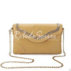 Sac Besace Femme-Le cuir beige sacs à main à double usage