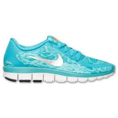 Revisa Mujer Nike Lightweight Free 5.0 V4 Print - Dusty Cactus/MetTodoic/Bleached Turq 695168 300