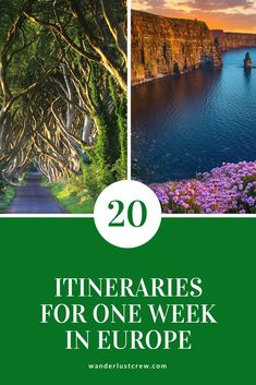 Wondering where to spend one week in Europe? These 20 ideas for your Europe trip will help you decide how to maximize your time and enjoy as many destinations as possible. babies flight hotel restaurant destinations ideas tips Europe Destinations, Europe Travel Tips, Places To Travel, Backpacking Europe, Budget Travel, Travel Articles, Time Travel, Travel Guides, Travel Advise
