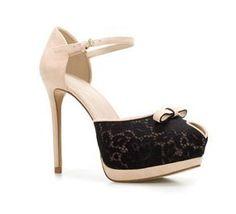 sandali con tacco alto Zara