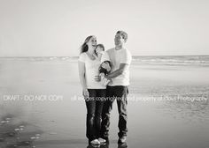 Family photography session on the beach, cannon beach