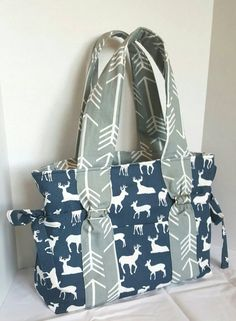 Hey, I found this really awesome Etsy listing at https://www.etsy.com/listing/266192473/boy-deer-diaper-bag-large-arrow-diaper