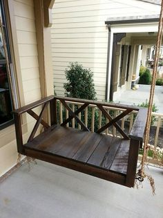 DIY Porch Swing Bed Plans Ideas On a Budget 42