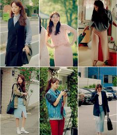 Tomorrow With You Shin Min Ah Tomorrow With You, Beautiful Asian Girls, Asian Style, Your Style, Style Inspiration, Fashion Outfits, Korean Drama, Kpop, Clothes
