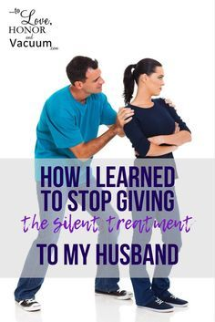 Is the silent treatment slowly destroying your marriage? Here are some things one blogger learned when she really examined how she was dealing with conflict with her husband!