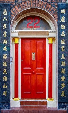 Chinatown, Liverpool, England