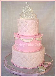 Princess Birthday Cake by springlakecake