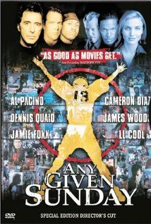"""""""A behind the scenes look at the life and death struggles of modern day gladiators and those who lead them.""""  This is an excellent movie, even for those of us who aren't football fans.  ~11/19/12"""