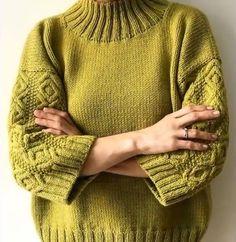 Knitting patterns, knitting designs, knitting for beginners. Sweater Knitting Patterns, Knitting Stitches, Knitting Designs, Knitting Needles, Knit Patterns, Baby Knitting, Free Knitting, Knit Fashion, Pulls