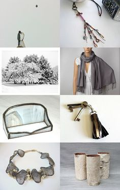 Christmas gifts for everyone - Blue Winter Morning by Inese on Etsy--Pinned with TreasuryPin.com