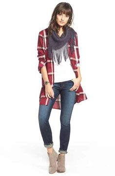 cupcakes and cashmere Shirtdress & Jeans