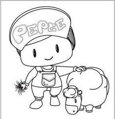 Pepe Boyama Sayfaları Pepe Etkinlikleri Evimin Altın Topu Boyama