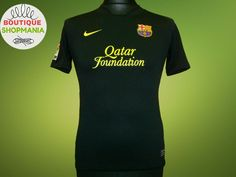 b32c93ca6c7ab Details about VGC BARCELONA Away 2011-2012 (YL-12 13YRS) NIKE FOOTBALL  SHIRT Maillot Camisa